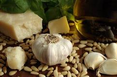 Italien basil pesto sauce Stock Photography