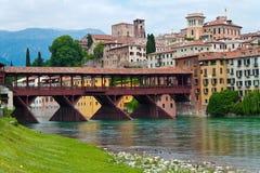 Italien, Bassano Del Grappa Stockfotos