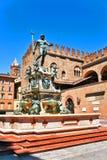 Italien-Bologna der Brunnen lizenzfreies stockbild