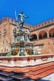 Italien-Bologna der Brunnen von Neptun lizenzfreie stockfotografie