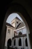 Italien, Bressanone, Blick 'der Abtei von Neustift Stockfotos