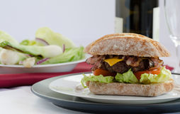 Italien burger Royalty Free Stock Images