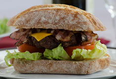 Italien burger Stock Photography
