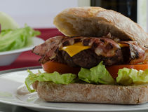 Italien burger Stock Photos