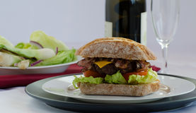 Italien burger Royalty Free Stock Photos