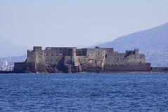 ITALIEN, Campania, Neapel, Dell'Ovo Castel Stockfotografie
