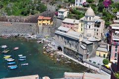 Italien Chinque terre Royaltyfria Foton