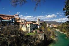 Italien Cividale del Friuli arkivfoto