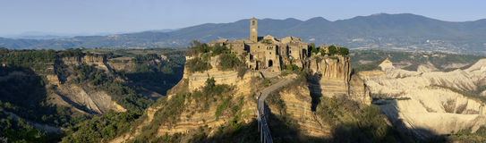 Italien - Civita di Bagnoregio stockfotografie