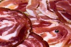 Italien de quartier de porc Images stock