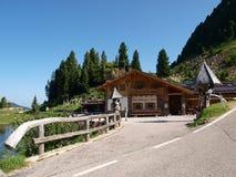 Italien - Dolomiti Stockbilder