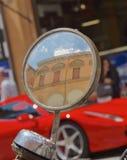 Italien durch den Spiegel Lizenzfreies Stockfoto