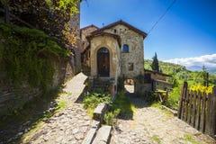 Italien, Emilia Romagna, das Dorf Stockfoto