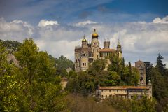 Italien, Emilia Romagna, das Dorf Lizenzfreies Stockbild