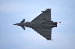 Italien Eurofighter Typhoon sur Radom Airshow, Pologne images stock