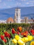 Italien, Florenz, Giotto-Turm Lizenzfreies Stockbild