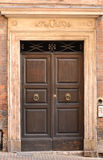 Italien front door Royalty Free Stock Photos