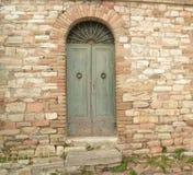 Italien front door Royalty Free Stock Image