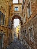 Italien gator Royaltyfria Bilder