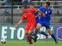 Italien gegen die Schweiz - FIFA unter 20 Lizenzfreie Stockfotografie