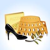 Italien-Ikone Lizenzfreies Stockfoto