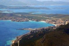 Italien, Insel der Elba-Ansicht Lizenzfreie Stockfotos