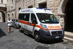 Italien-Krankenwagen Lizenzfreie Stockfotografie