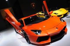 Italien Lamborghini Aventador Langspielplatte 700-4 Stockfotografie