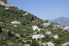 Italien lantgårdar och villor Fotografering för Bildbyråer