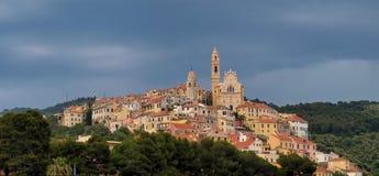 Italien - Ligurien, Cervo Stockfotos