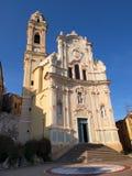 Italien - Ligurien, Cervo Stockbilder