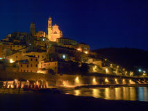 Italien - Ligurien, Cervo Lizenzfreie Stockfotos