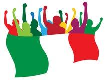 Italien lockert Abbildung auf vektor abbildung