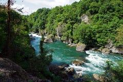 Italien, Lombardei, entlang dem Adda-Fluss Stockfoto