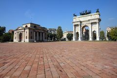 Italien - Mailand Lizenzfreie Stockfotografie