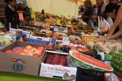 Italien Market Place Photographie stock