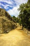 ITALIEN - NAPOLI - Scavi archeologici di Baia Royaltyfria Bilder