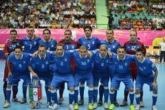 Italien nationellt futsal lag Royaltyfri Foto