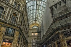 Italien, Neapel, Galerie 02,01,2018 von Umberto Lizenzfreies Stockfoto