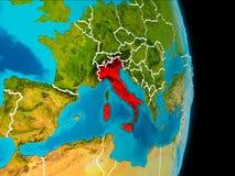 Italien på jord Royaltyfri Bild