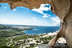 Italien Palau Sardegna Arkivbilder