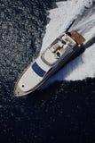 Italien, Panaresa Insel, Luxuxyacht Lizenzfreie Stockfotografie