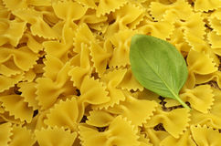 Italien pasta farfalle Stock Images