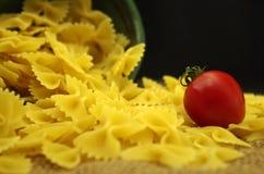 Italien pasta farfalle Royalty Free Stock Photos