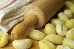 Italien pasta gnocchi Stock Images