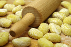 Italien pasta gnocchi Royalty Free Stock Photos