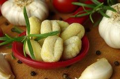 Italien pasta gnocchi Stock Photo