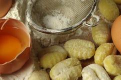 Italien pasta gnocchi Stock Photography