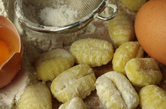 Italien pasta gnocchi Royalty Free Stock Image