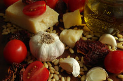 Italien pesto rosso sauce Stock Image